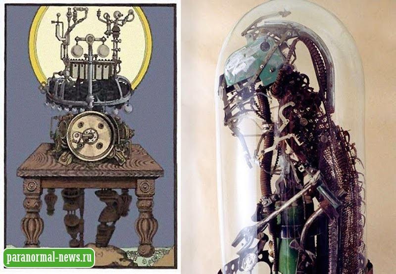 Загадочная «Божественная машина» Джона Спира