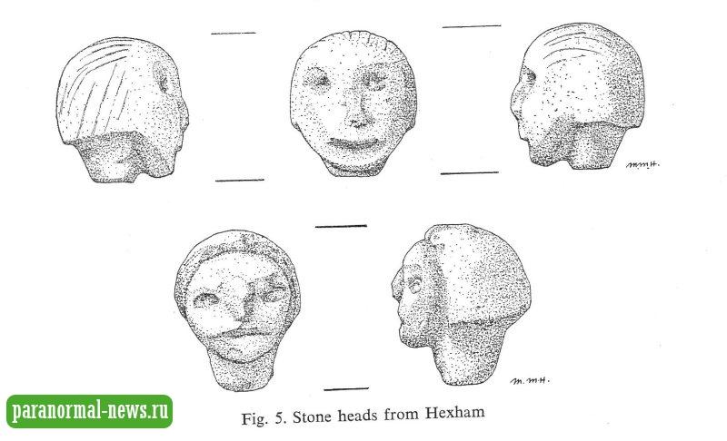 Полтергейст и человек-овца: История проклятых каменных голов Хексхэма