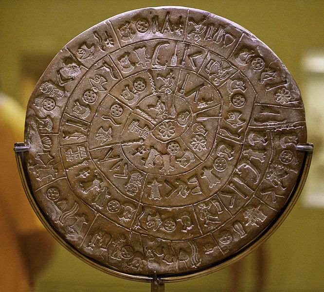 Необъяснимая загадка Фестского диска