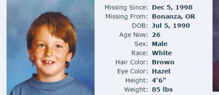 Необъяснимое исчезновение 8-летнего Деррика Энгебретсона