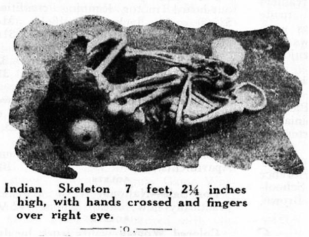 Таинственные древние гиганты из штата Нью-Йорк
