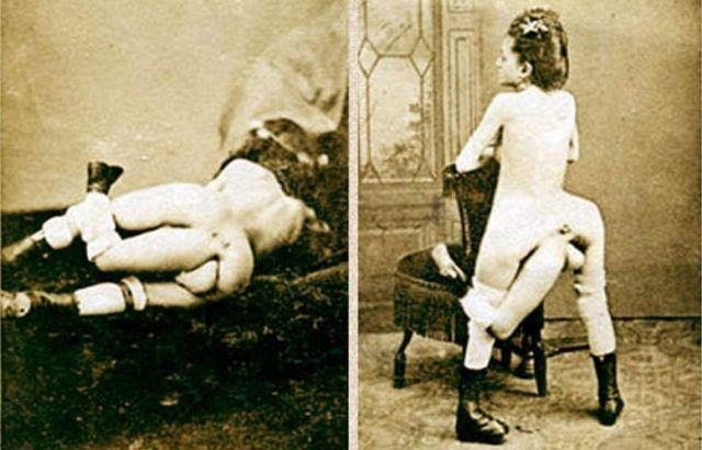 Бланш Дюма - трехногая куртизанка с четырьмя грудями (18+)