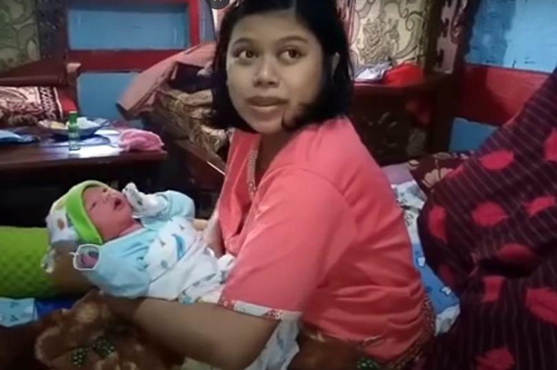 Непорочная беременность, длительностью всего 1 час: Индонезийка уверяет, что это реально