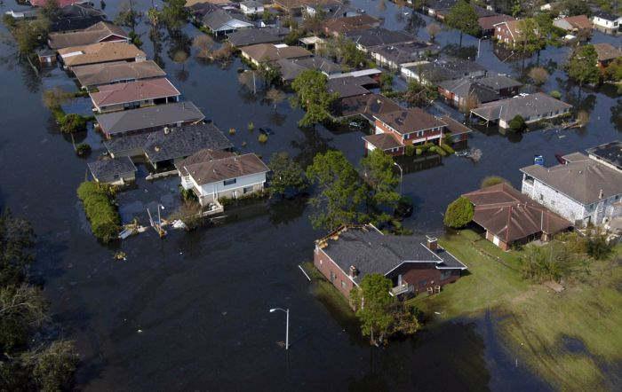 «Я работал волонтером во время урагана Катрина в Новом Орлеане и видел нечто жуткое»