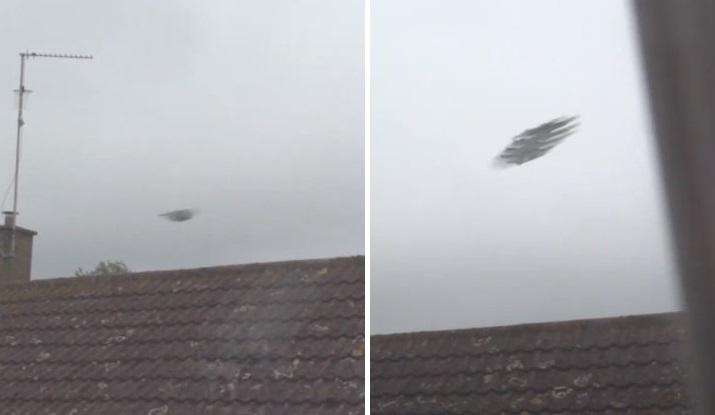 Скоростной НЛО или очень необычный беспилотник засняли на видео в Кембридже