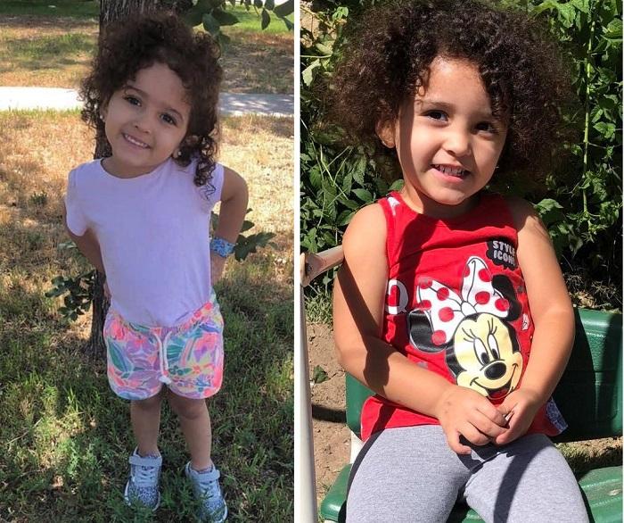 Камера засняла на кладбище маленькую девочку, в которой мать опознала свою убитую два года назад дочь