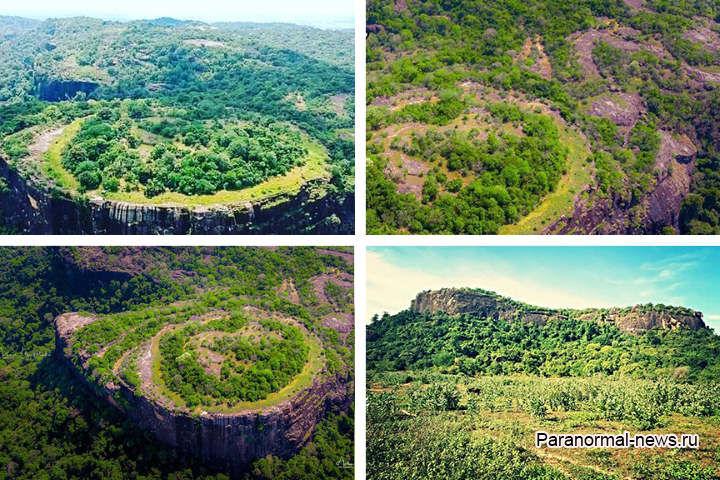 На Горе Инопланетян в Шри-Ланке обнаружили необычные петроглифы