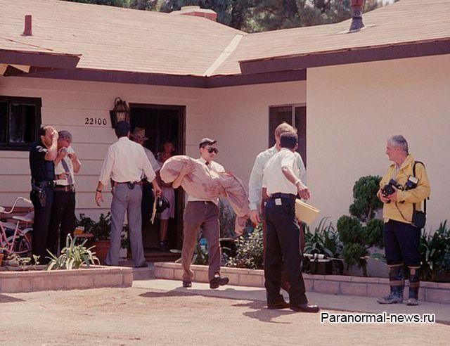 Странные явления в доме жестоко убитой маленькой киноактрисы