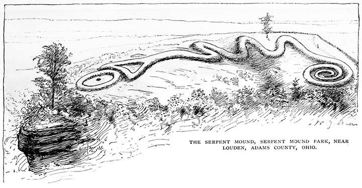Скелеты гигантов и астрономия: Тайны Змеиного кургана в Огайо