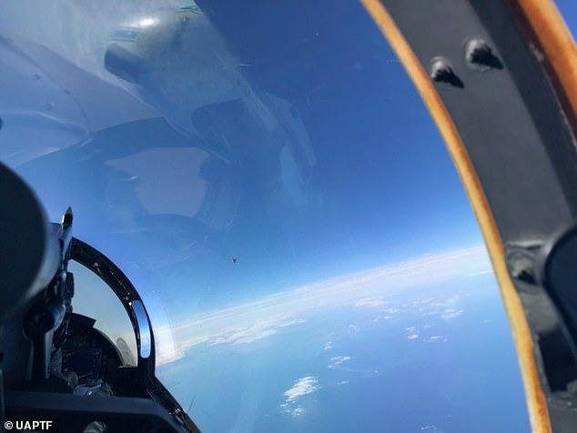 Из Пентагона утекло фото НЛО над Атлантикой, сделанное в 2018 году