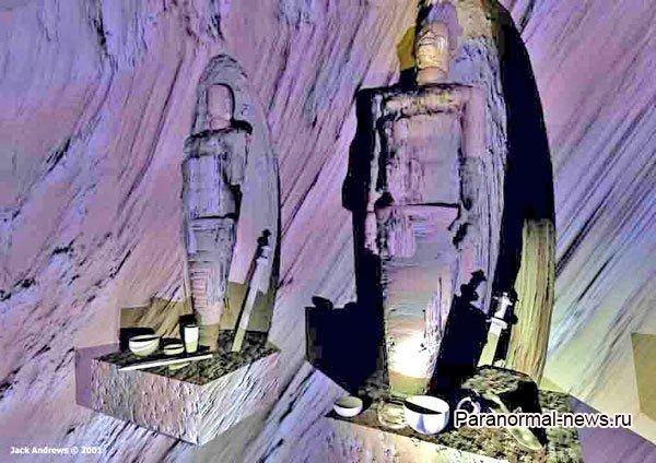 Таинственные туннели в Большом Каньоне, заполненные артефактами разных цивилизаций