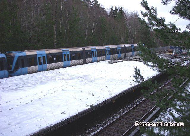 Шведский поезд из иного измерения