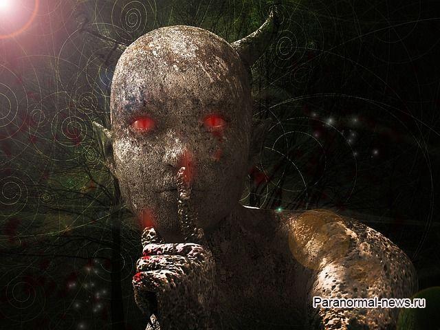 Причудливое происшествие с говорящим демоном из Гленлуса (Шотландия)