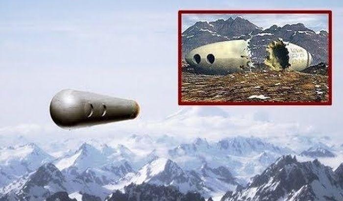 Странный инцидент с упавшим НЛО в Чили в 1998 году