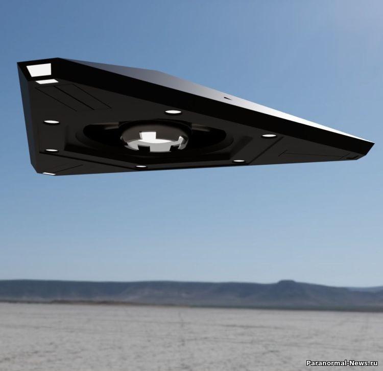 Над Нью-Йорком пролетел огромный треугольный НЛО (+ видео)