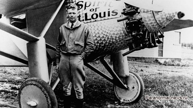 Летчику Чарльзу Линдбергу перелететь океан помогли Ангелы?