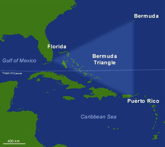 В конце декабря 2020 года в Бермудском треугольнике пропал корабль с 20 людьми на борту