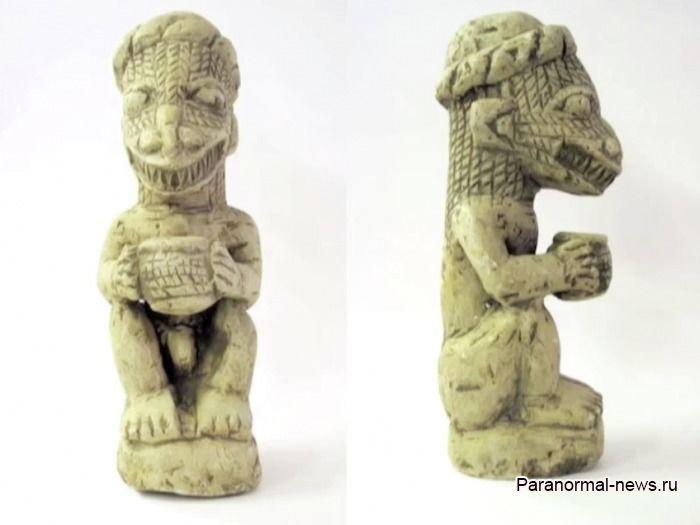Тайны фигурок Номоли: Чешуйчатые монстры, созданные неизвестной культурой