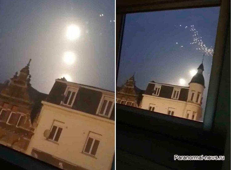 Три гигантские «Луны» засняты над Бельгией
