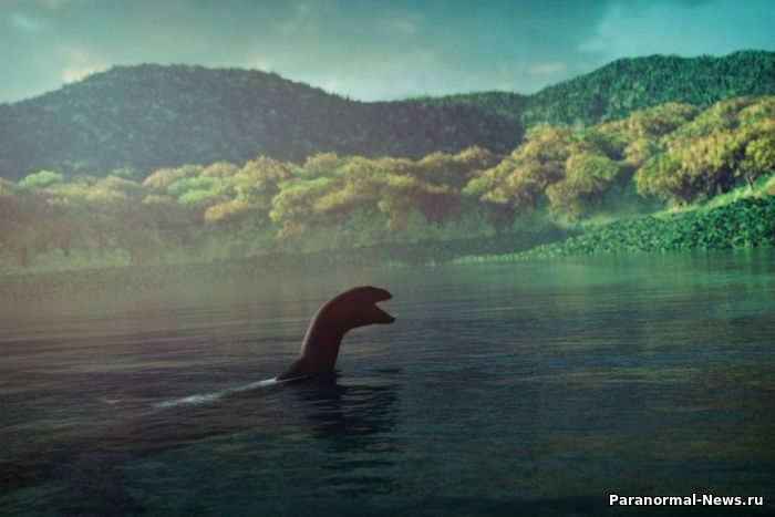 Загадочный «водяной дракон» из озера Челан