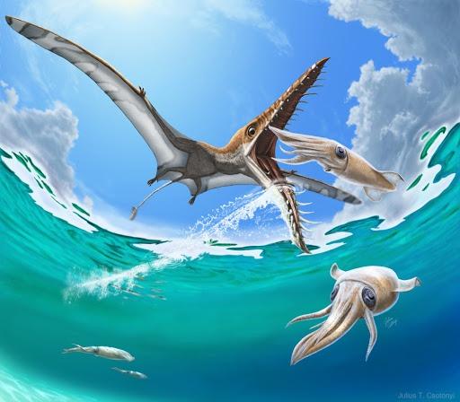 Вымершие летающие ящеры в современной Новой Гвинее