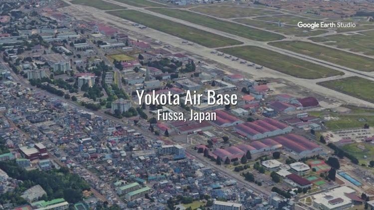 Монстры пугают девочку, живущую на американской военной базе в Японии