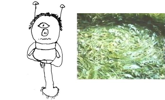Зеленые пришельцы-циклопы со свиным носом-пятачком из Харры