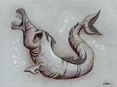 Мамламбо - неопознанный речной монстр, поедающий лица и мозги утопленников