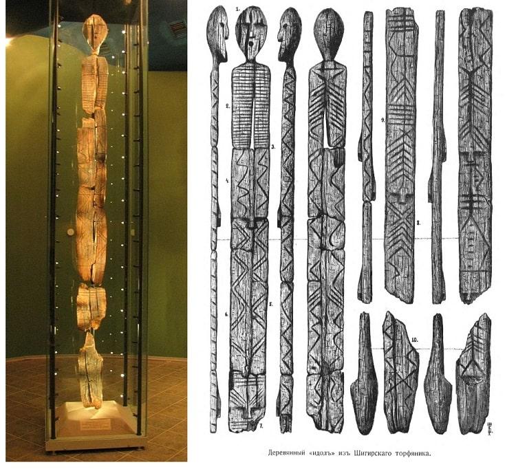 Деревянный Шигирский идол из болота оказался еще древнее, чем считалось раньше