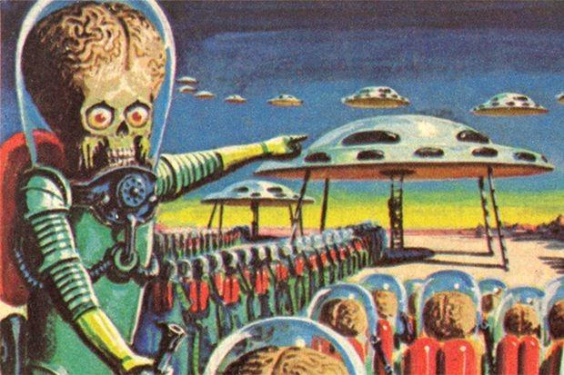 Французский зоолог Жан Перье первым описал, как выглядят марсиане