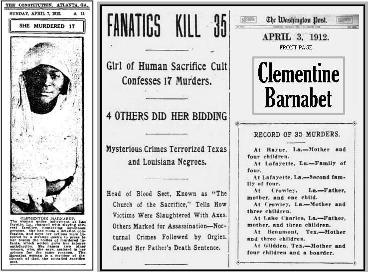 Кровавые убийства культа вуду в Луизиане в начале ХХ века
