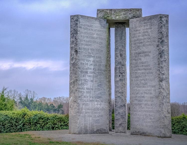 Загадка каменных скрижалей Джорджии
