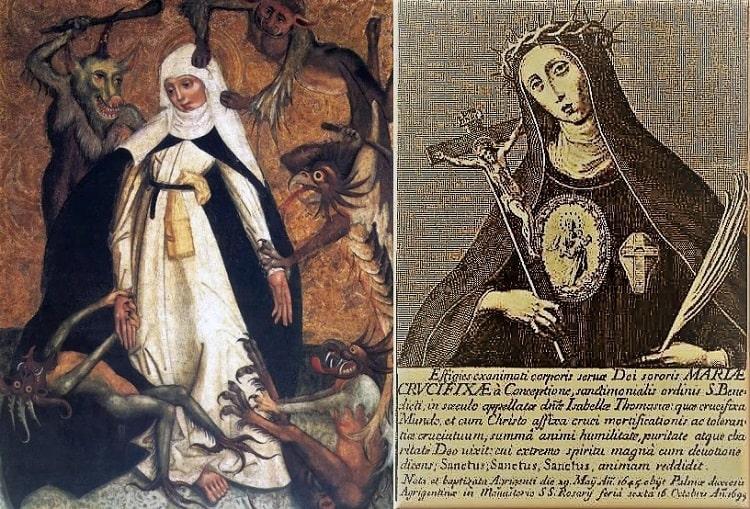 Одержимая монахиня Мария и ее таинственное Письмо Дьявола