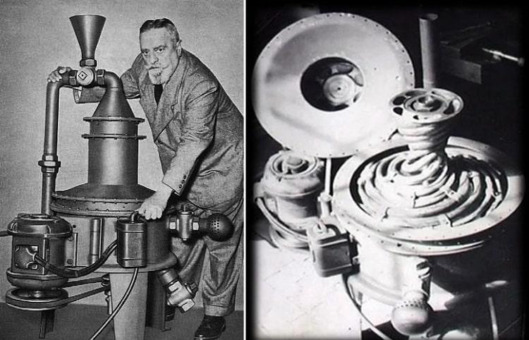 Таинственный австрийский изобретатель, создавший для нацистов летающий диск
