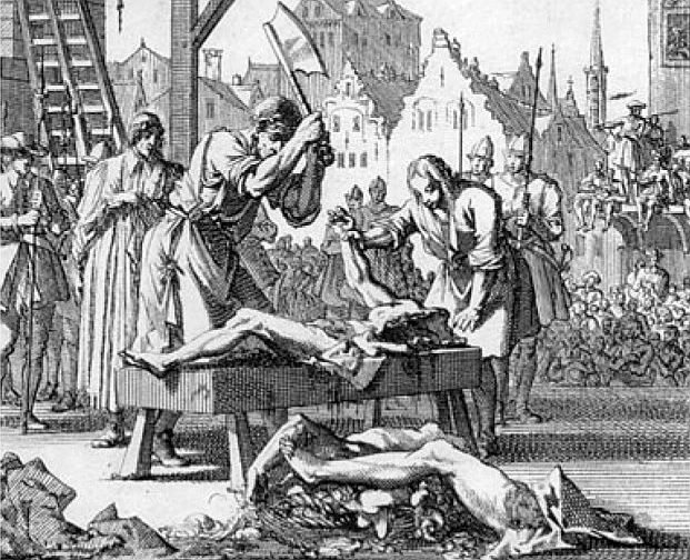 В здании Lincoln's Inn гуляют призраки жестоко казненных людей и огромной птицы-убийцы