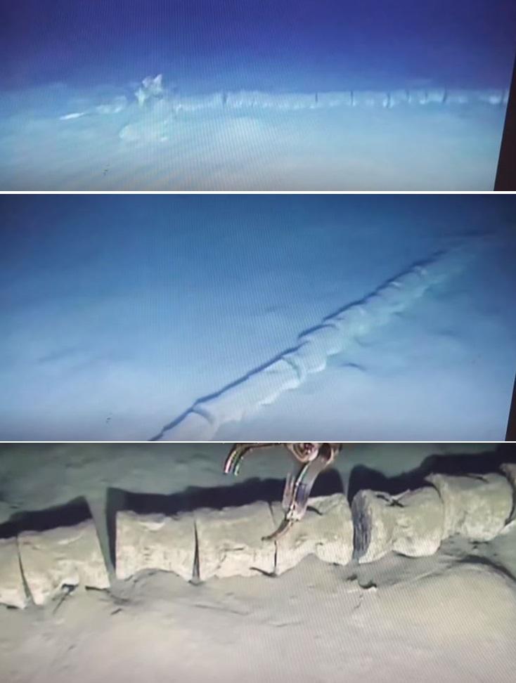 Загадочный 30-метровый скелет найден на дне Средиземного моря: Останки мифического морского Змея?