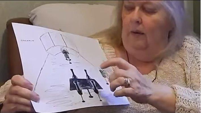 Англичанку с 5 лет многократно похищали пришельцы, оставляя на ее теле множество синяков, рубцов и ссадин