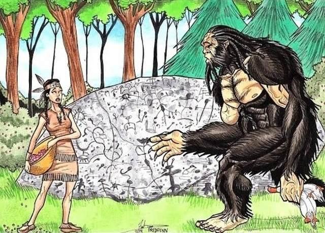 Индейская легенда о косоглазом великане имела в основе нечто очень реальное?