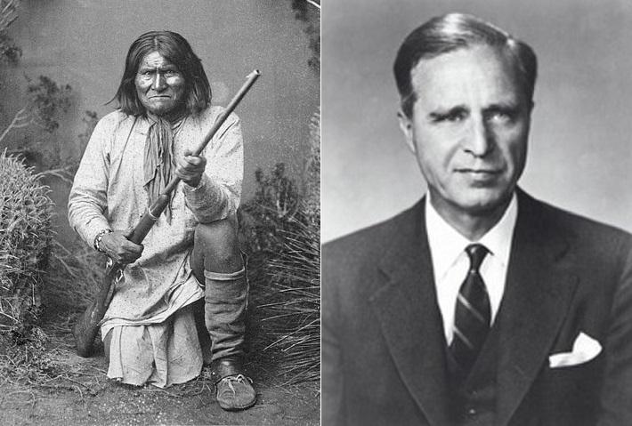 Зачем дед Джорджа Буша украл череп индейского вождя?