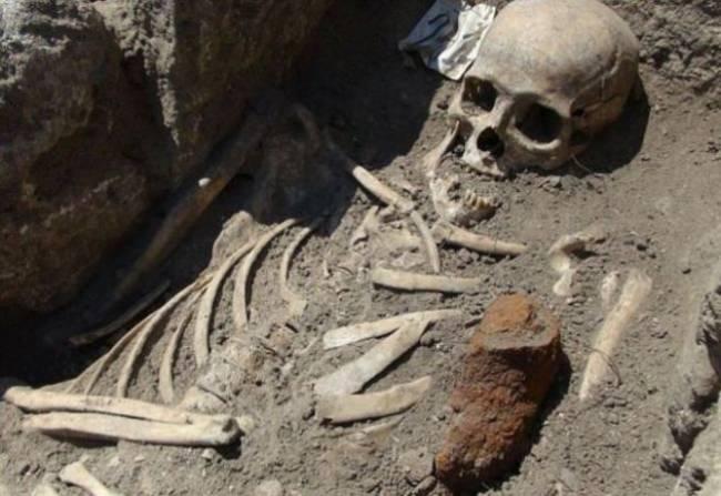 """""""Скелет вампира"""" найден в Великобритании"""