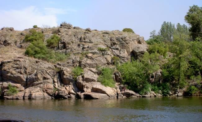 Украинском острове хортица живет йети