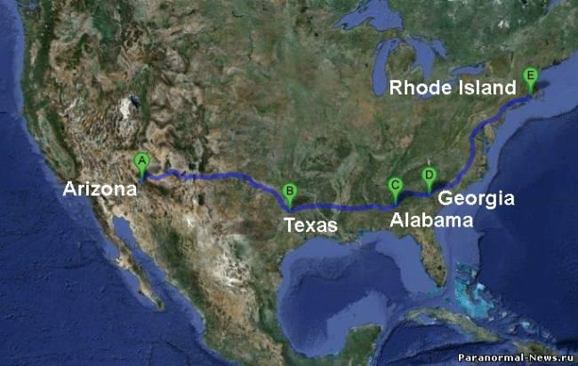 Странный грохот и дрожание земли в 7 штатах Америки