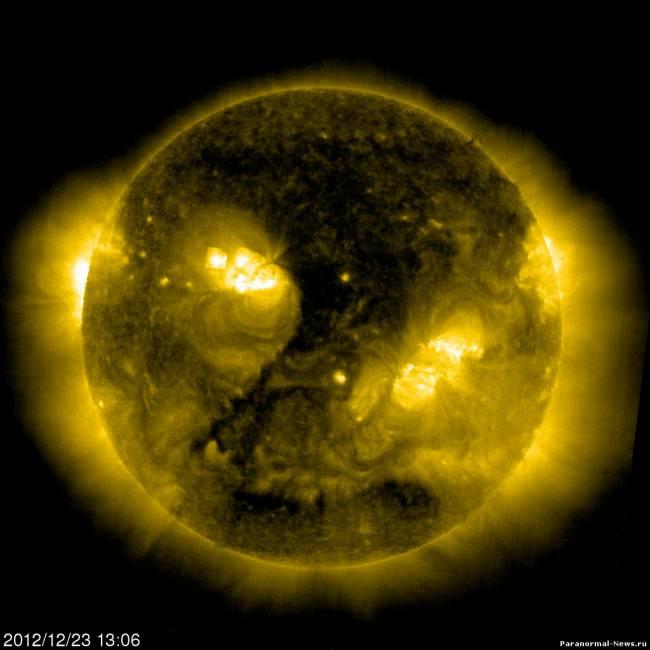 Что скрывают квадраты на Солнце?