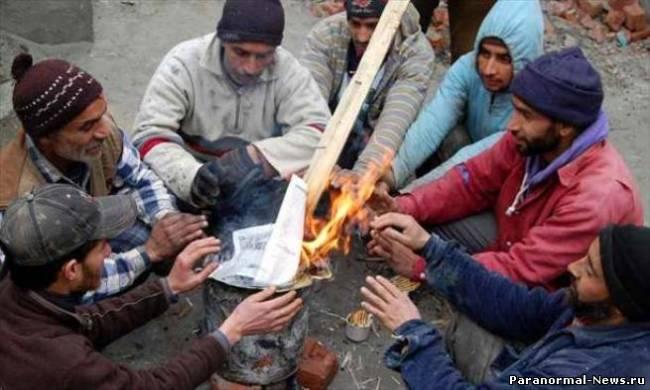 В Индии небывалые морозы, впервые за 43 года