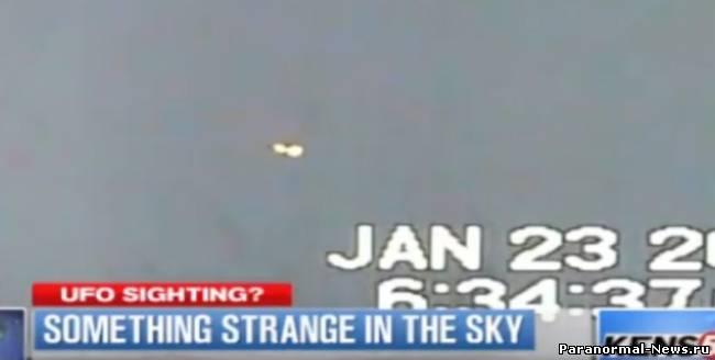 НЛО снова заметили возле нефти