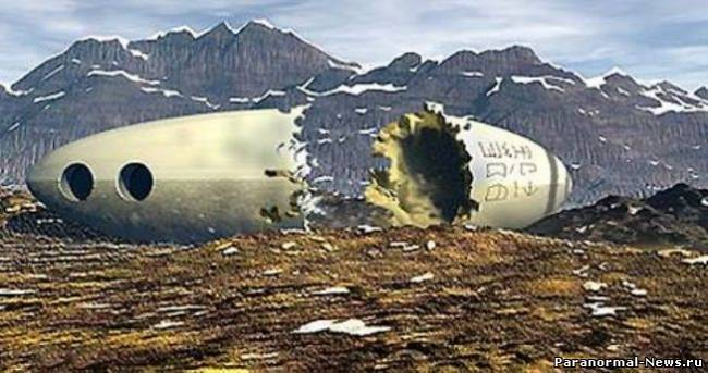 Гибель инопланетянина в Швеции