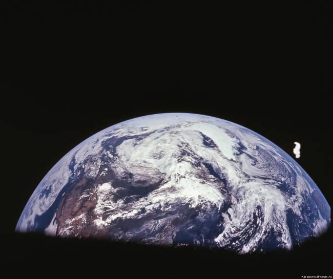 """""""Ангел"""" на орбите Земли"""