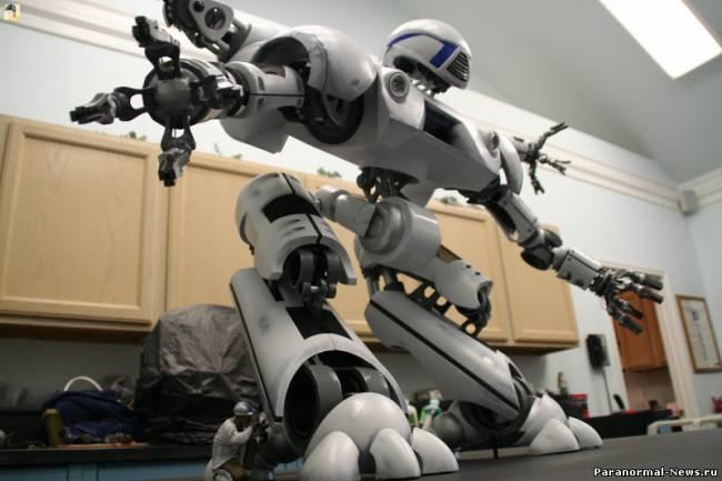 Британские ученые против создания человекоподобных боевых роботов
