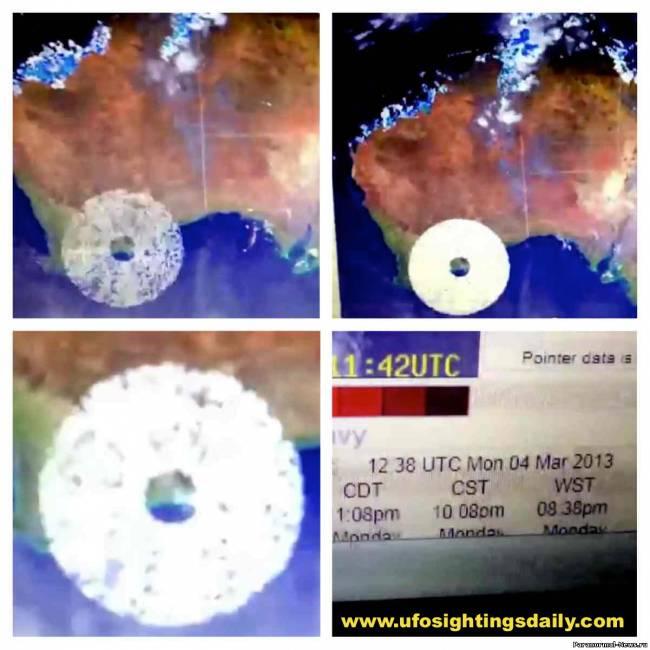Метеорадар зафиксировал нечто огромное над Австралией