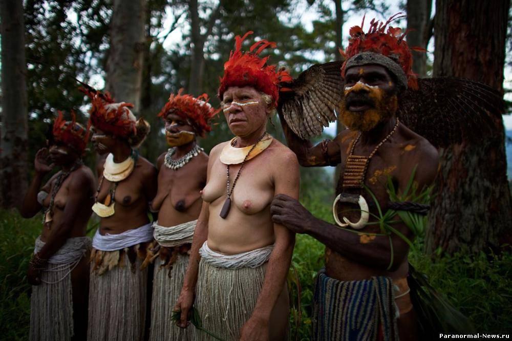 половая жизнь у диких племён